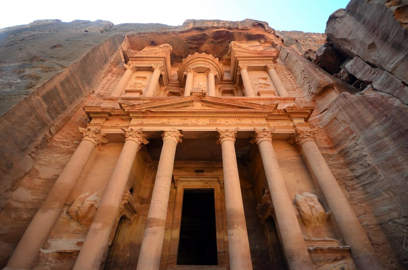 Al Khazneh- Petra, Jordan - Sheet1