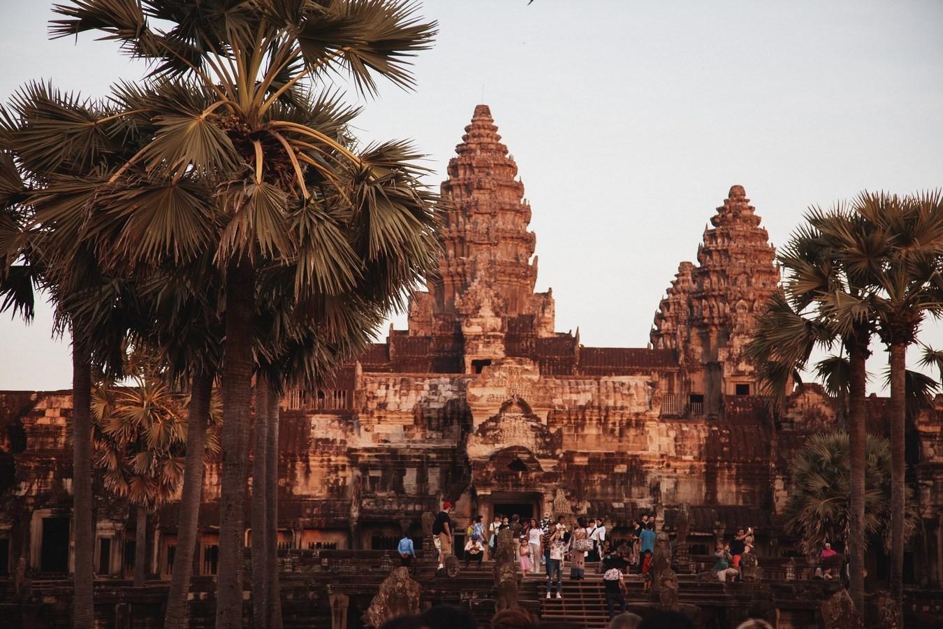 Angkor Wat - Siem Reap, Cambodia - Sheet1