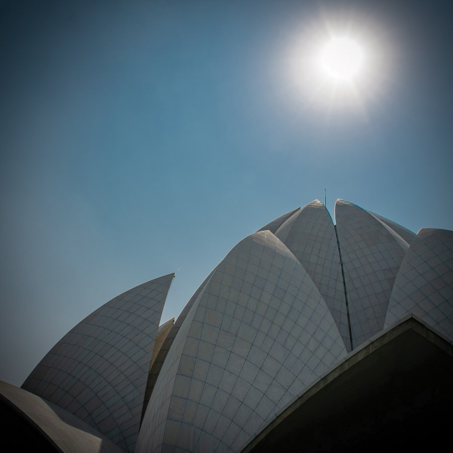 Lotus Temple - New Delhi, India - Sheet3