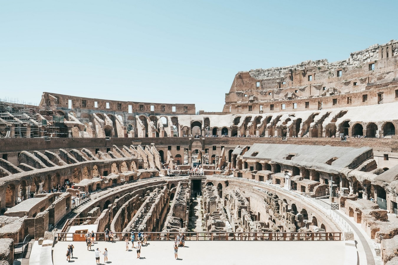 The Colosseum - Rome, Italy - Sheet2
