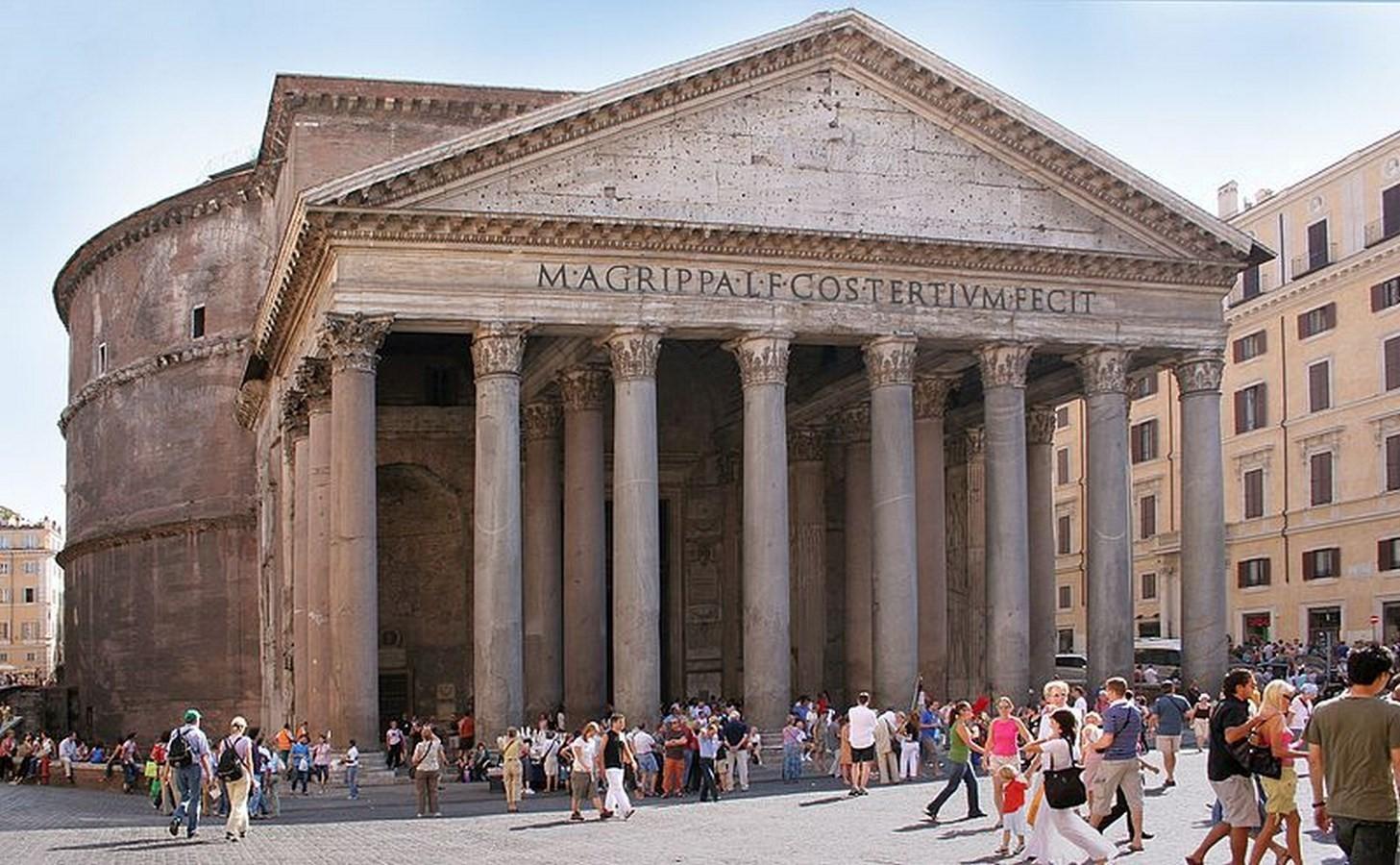 The Pantheon - Rome, Italy - Sheet2