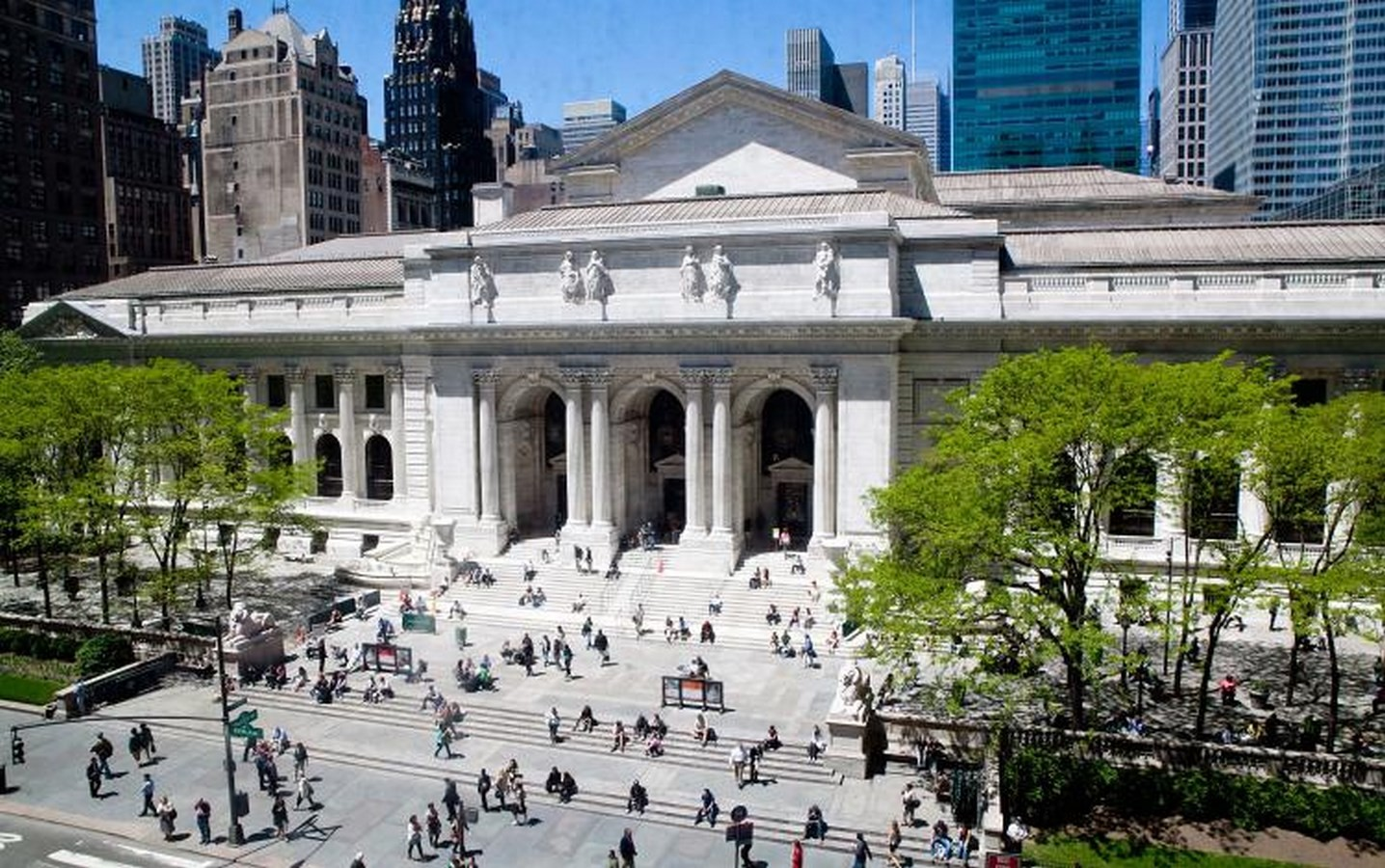 New York Public Library, Main Branch - Sheet1