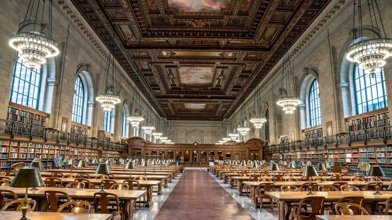 New York Public Library, Main Branch - Sheet3