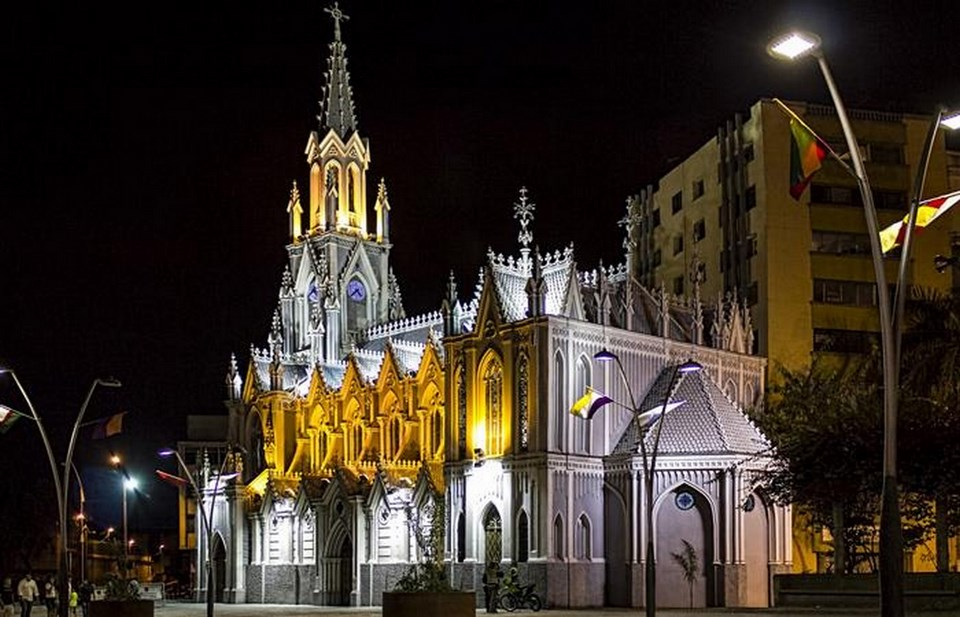 Places to visit in Cali for the Travelling Architect-Iglesia Ermita Church -3