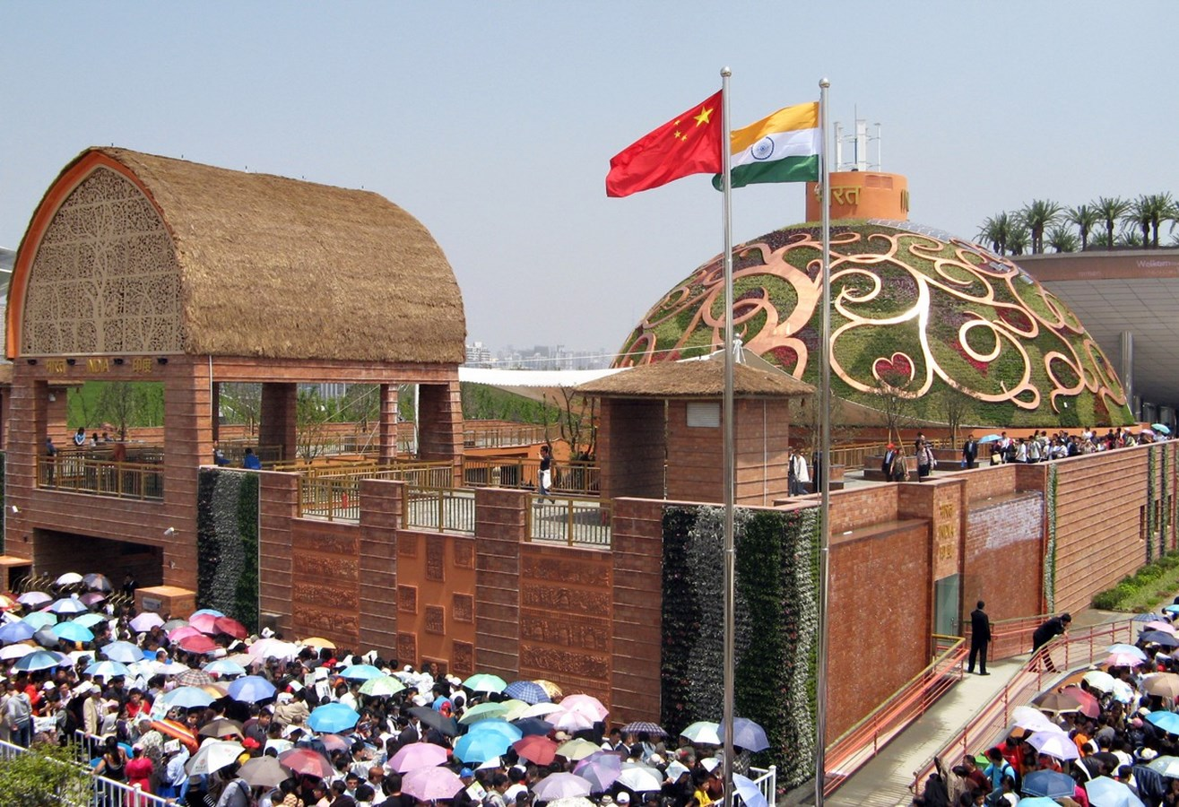 Remembering Ar. Pradeep Sachdeva-India Pavilion at the Shanghai World Expo 2010 -2