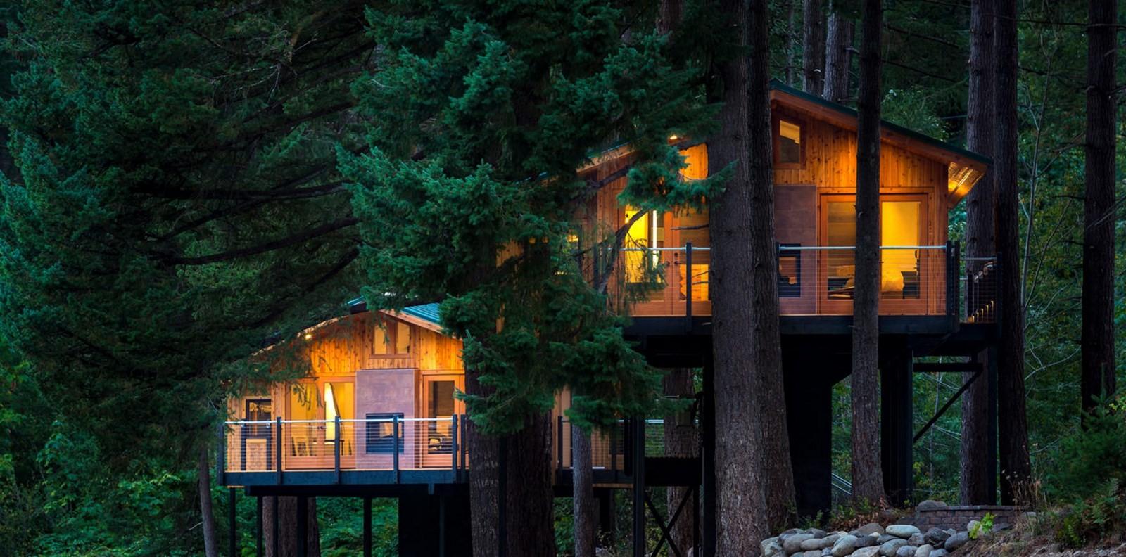 Tree Houses at Skamania Lodge (Stevenson, Washington) - Sheet