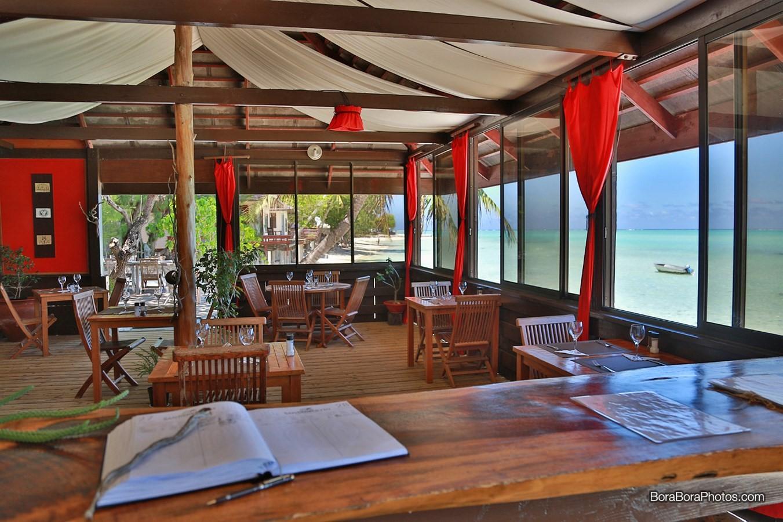 Restaurant Matira beach- Sheet3