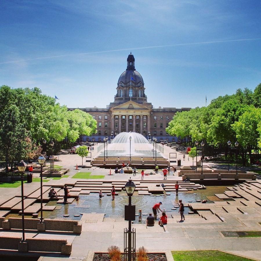 The Alberta Legislature Building - Sheet1