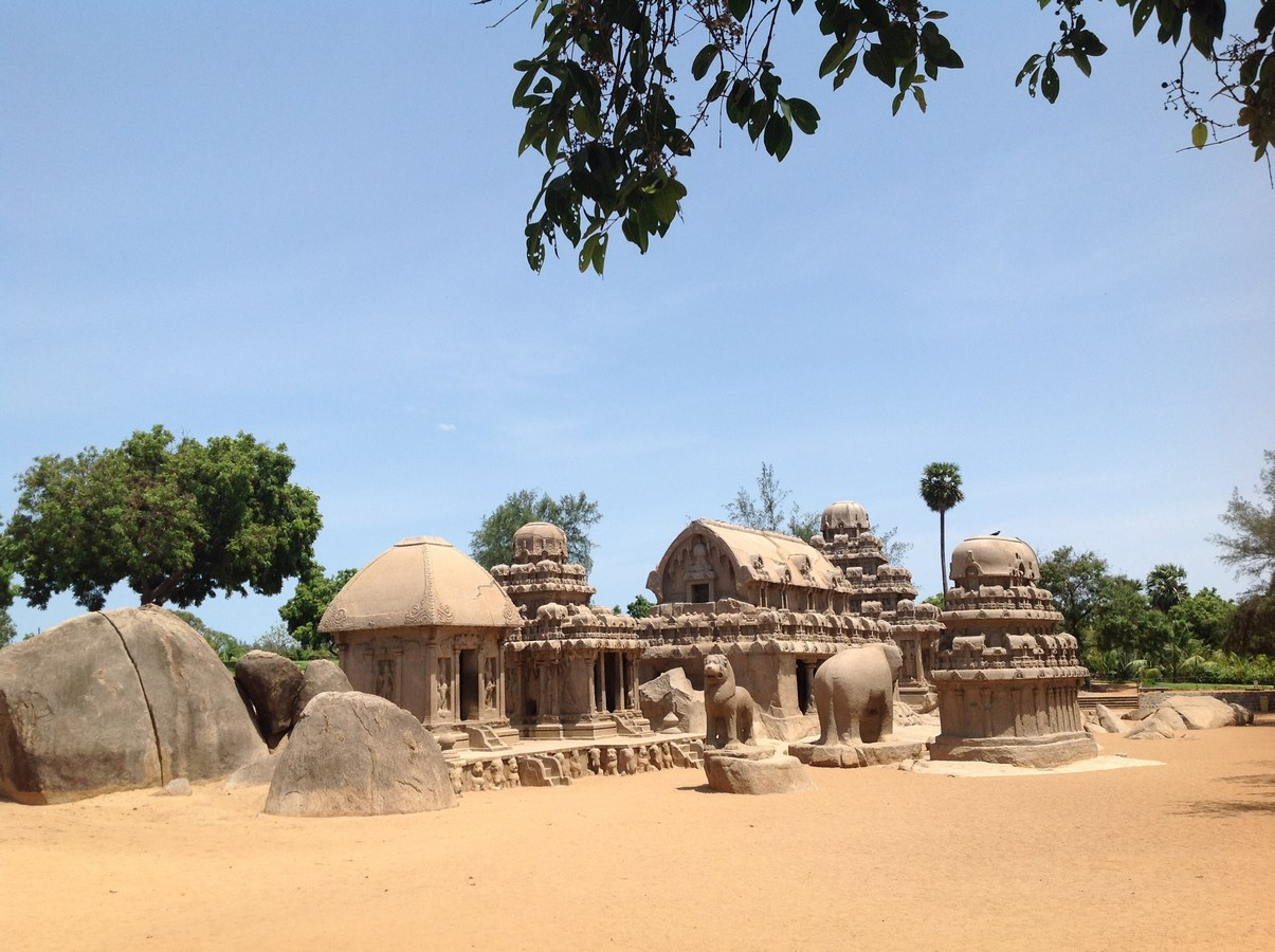 History and evolution of Temple Architecture in South India -Sheet2