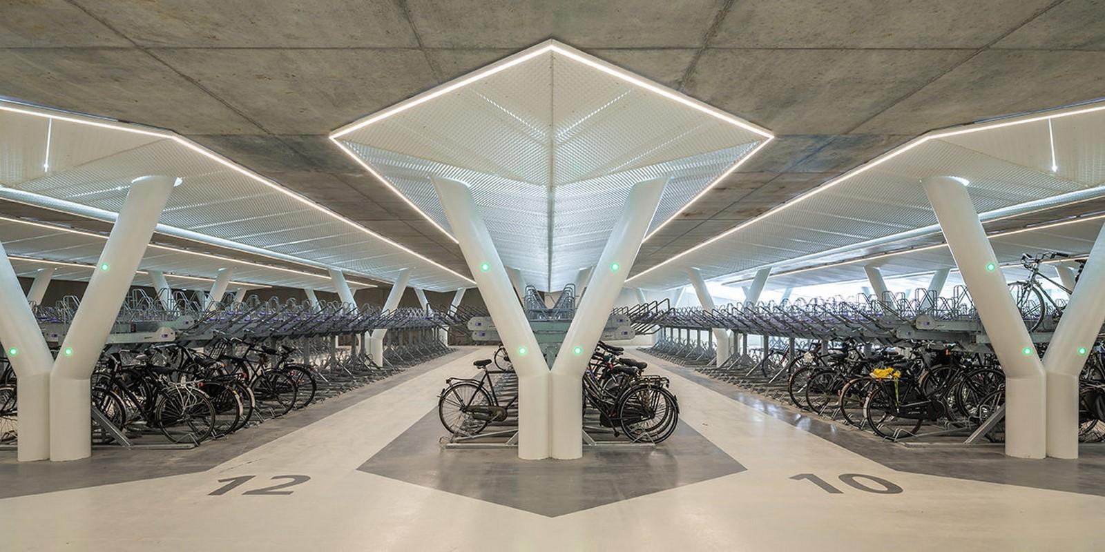 Strawinskylaan Bicycle Parking - Sheet2
