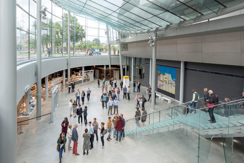 Van Gogh Museum Exhibition Wing - Sheet3