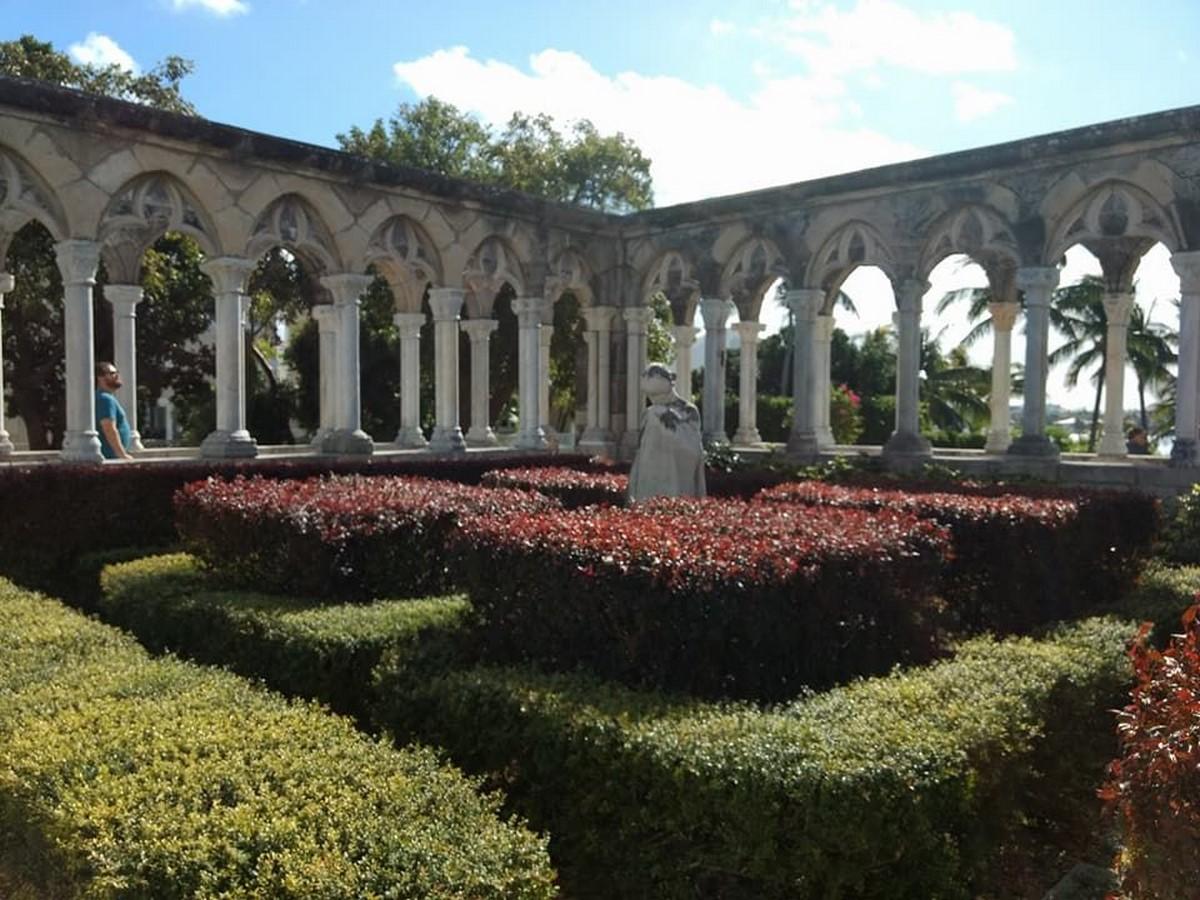 The Cloister and Versailles Garden - Sheet2