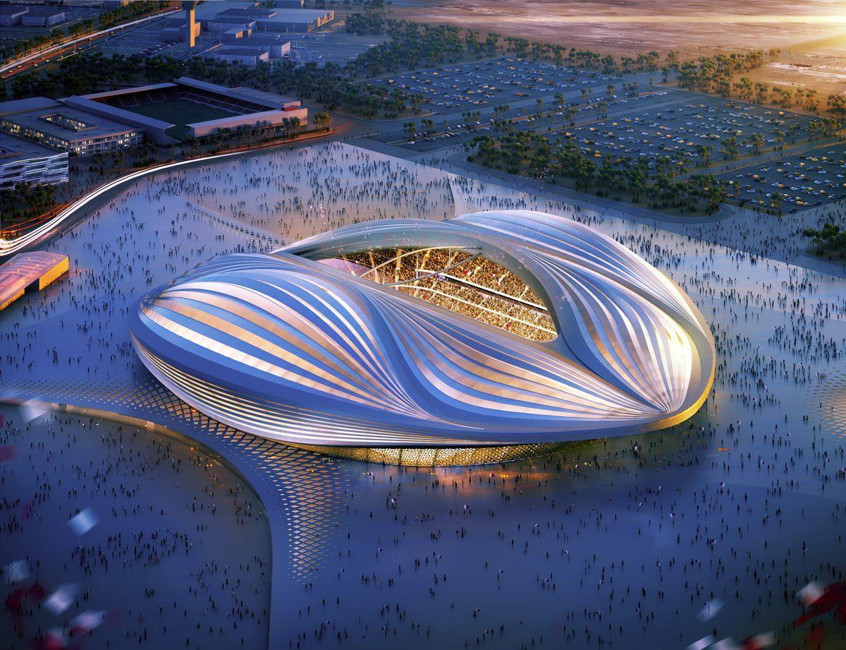 Al Wakrah Stadium, Qatar - Sheet2