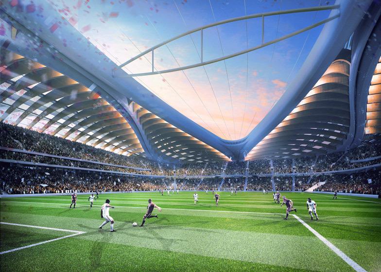 Al Wakrah Stadium, Qatar - Sheet3