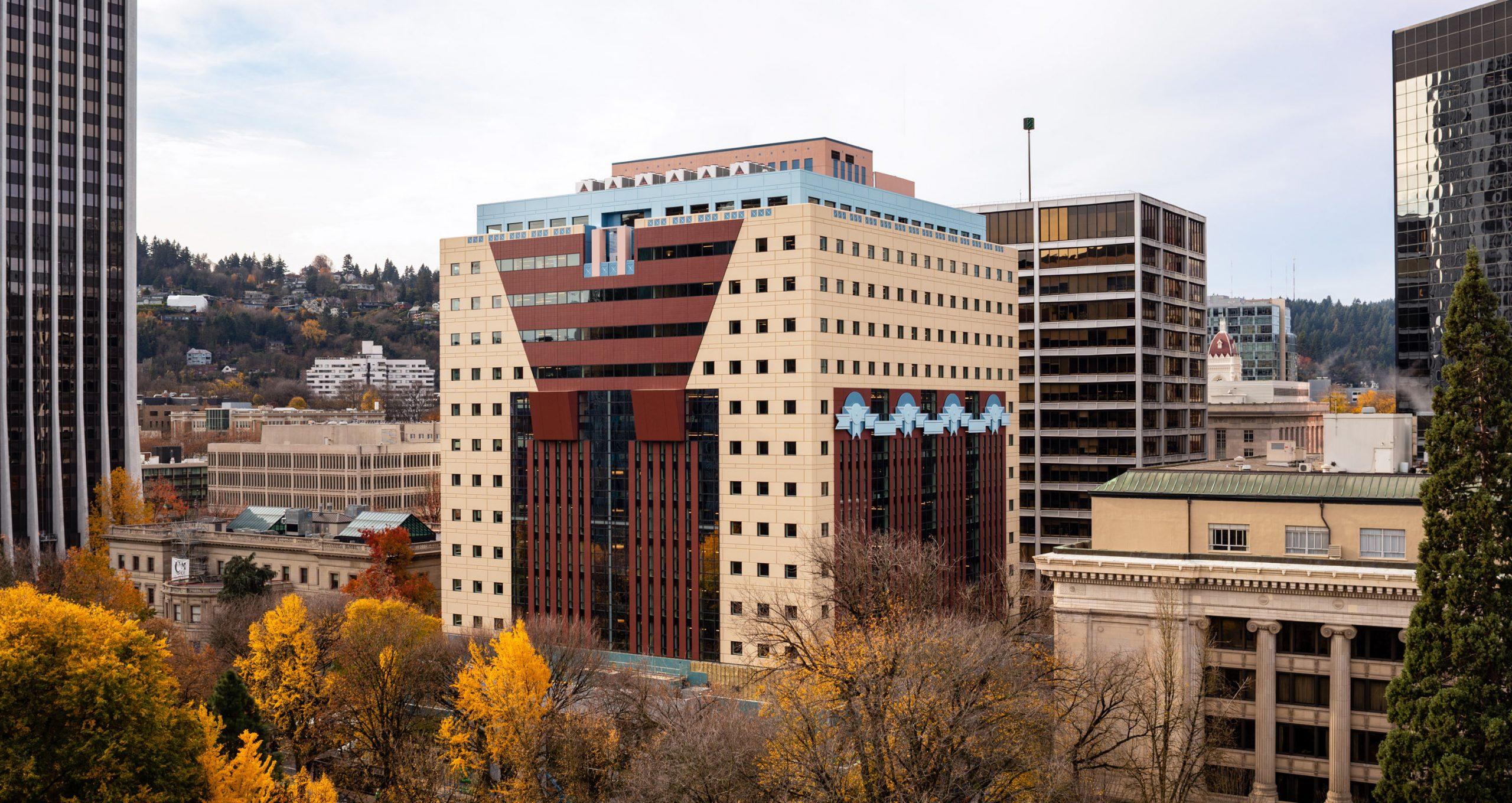 Portland Building, Portland - Sheet1