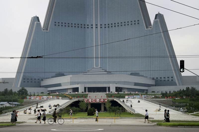 Ryugyong Hotel, Pyongyang - Sheet2