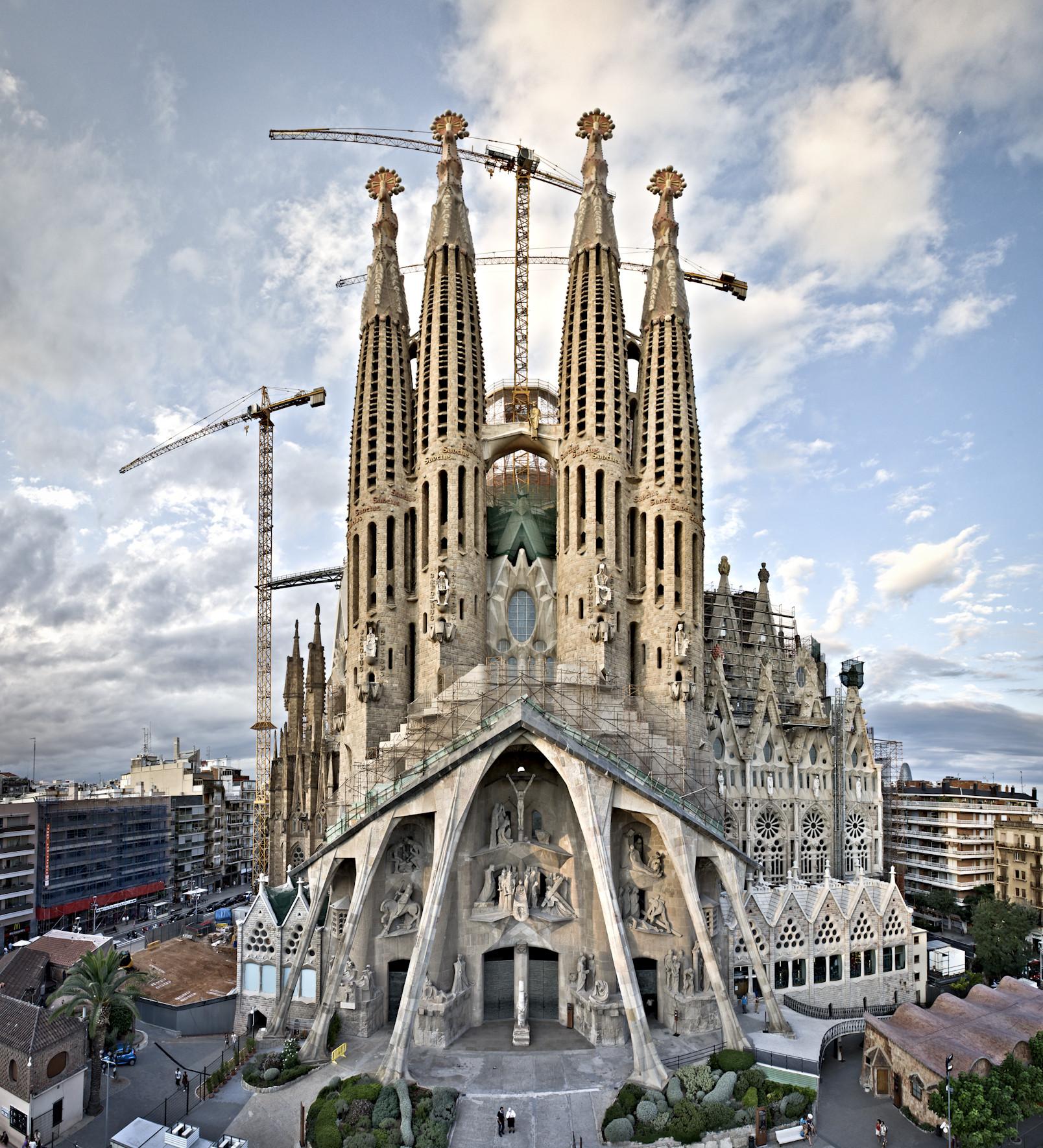 Sagrada Familia, Barcelona - Sheet1