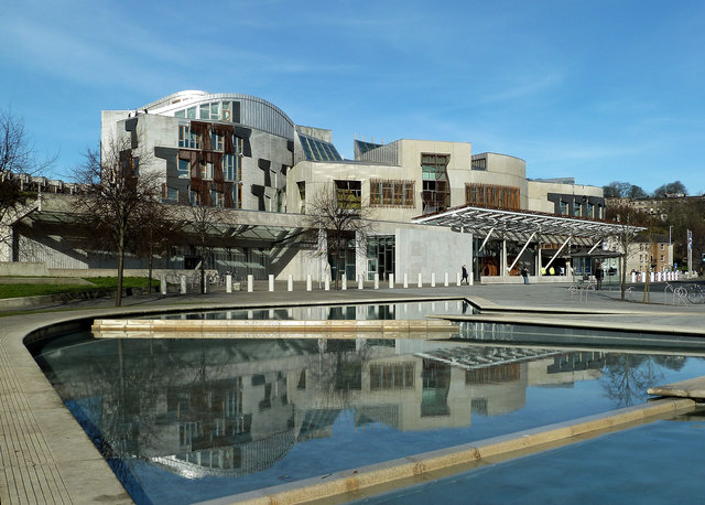 Scottish Parliament Building, Edinburgh - Sheet