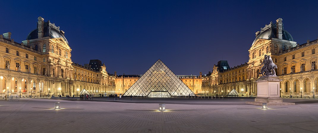 The Louvre Pyramid - Sheet1