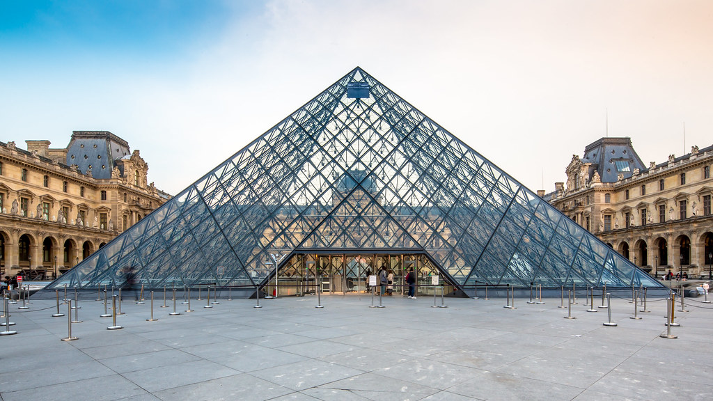 The Louvre Pyramid - Sheet2
