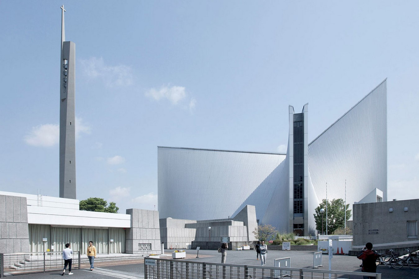 Kenzo Tange's Pritzker winning St. Mary's Cathedral, Tokyo - Sheet1