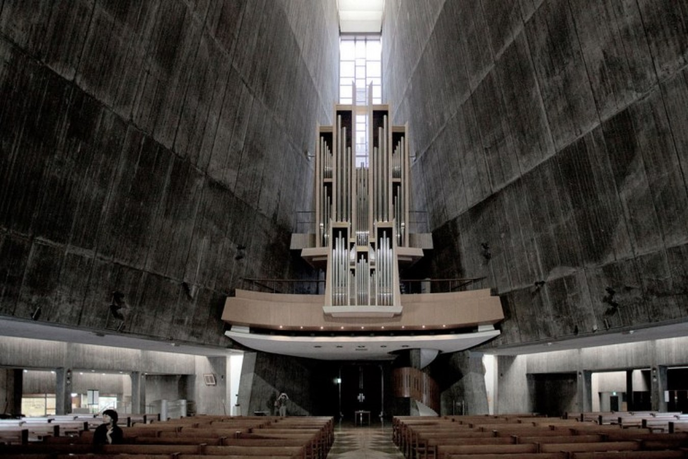 Kenzo Tange's Pritzker winning St. Mary's Cathedral, Tokyo - Sheet4
