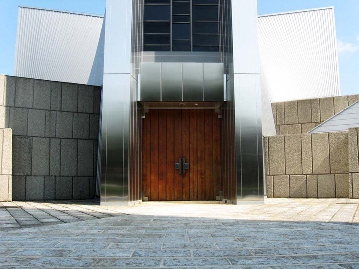 Kenzo Tange's Pritzker winning St. Mary's Cathedral, Tokyo - Sheet8