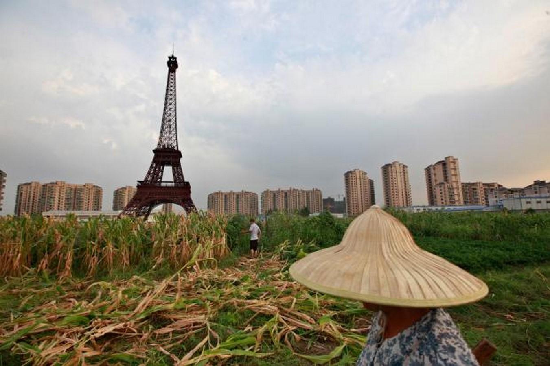 Paris, France inspired Tianducheng - Sheet3