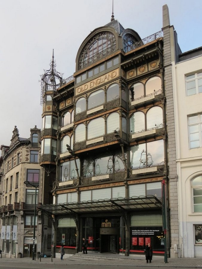 Musical Instrument Building, Brussels
