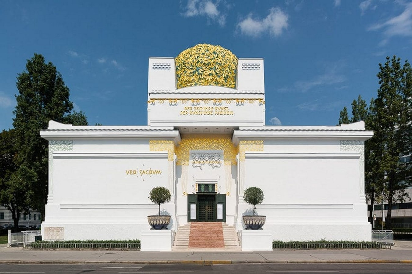 15 Examples of Art Nouveau in Architecture - Secession Building, Vienna