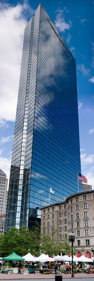 200 Clarendon Street (Formerly known as John Hancock Tower) – 790ft - Sheet1