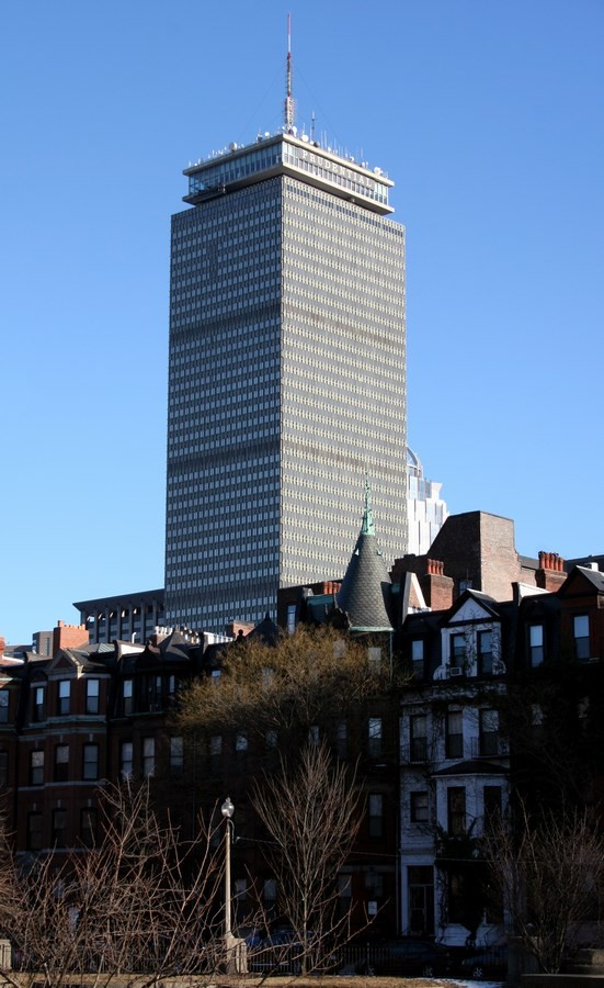 Prudential Tower – 749ft - Sheet1