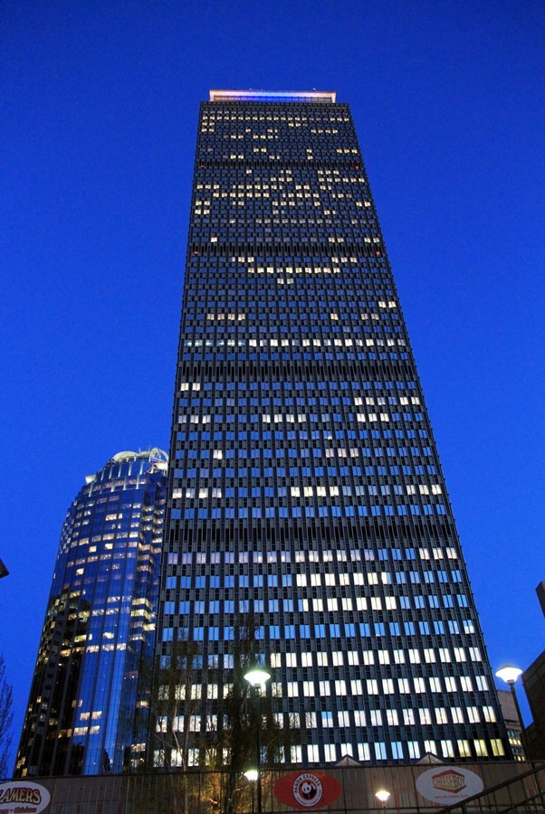 Prudential Tower – 749ft - Sheet3