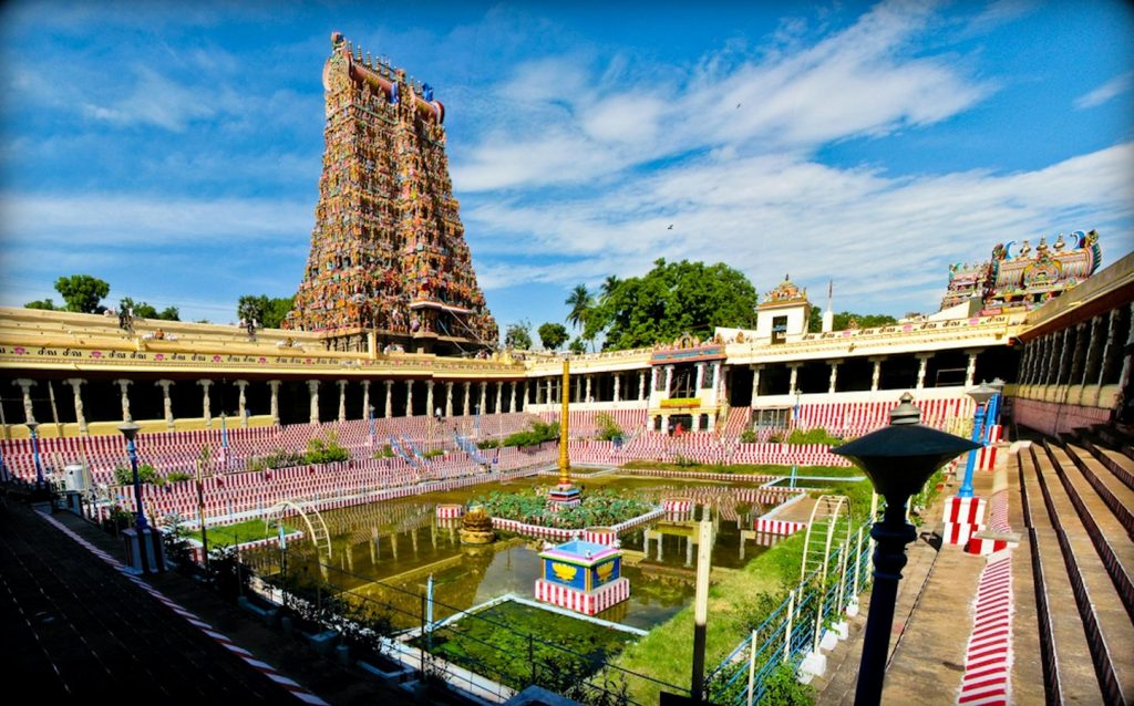 Famous Temples of South India-Madhurai Meenakshi Temple, Madurai