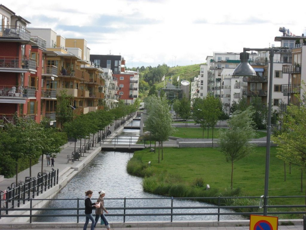 Sustainable community living on an Urban Scale-Hammarby