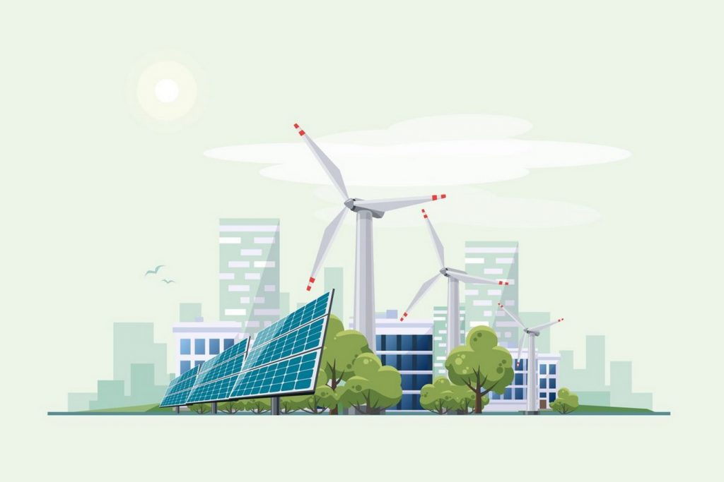 Sustainable community living on an Urban Scale-Renewable Ene