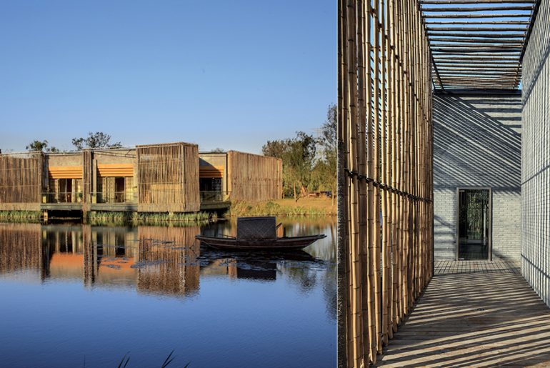 Bamboo Courtyard Teahouse by HWCD Associates - Rethinking The Future