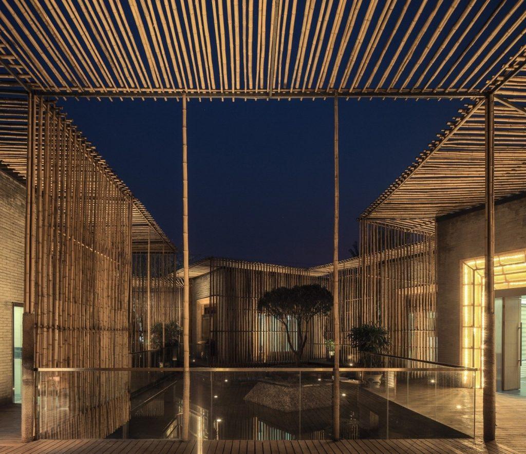 Bamboo Courtyard Teahouse by HWCD Associates -1