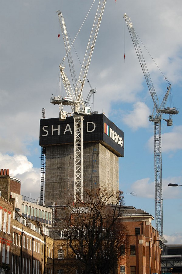 The Shard by Renzo Piano -Inspiring Change-Shard Construction Phases -1