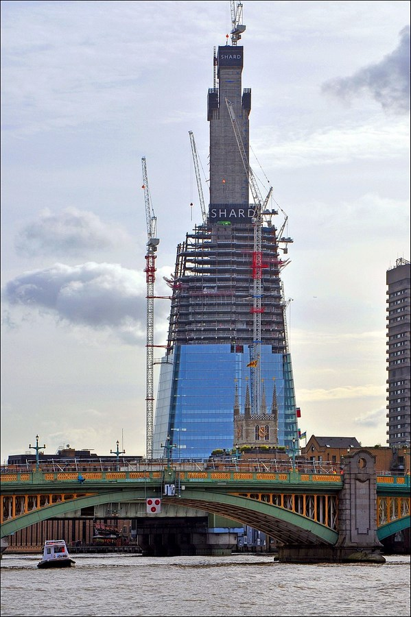 The Shard by Renzo Piano -Inspiring Change-Shard Construction Phases -2