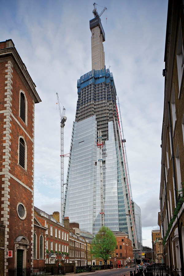 The Shard by Renzo Piano -Inspiring Change-Shard Construction Phases -3
