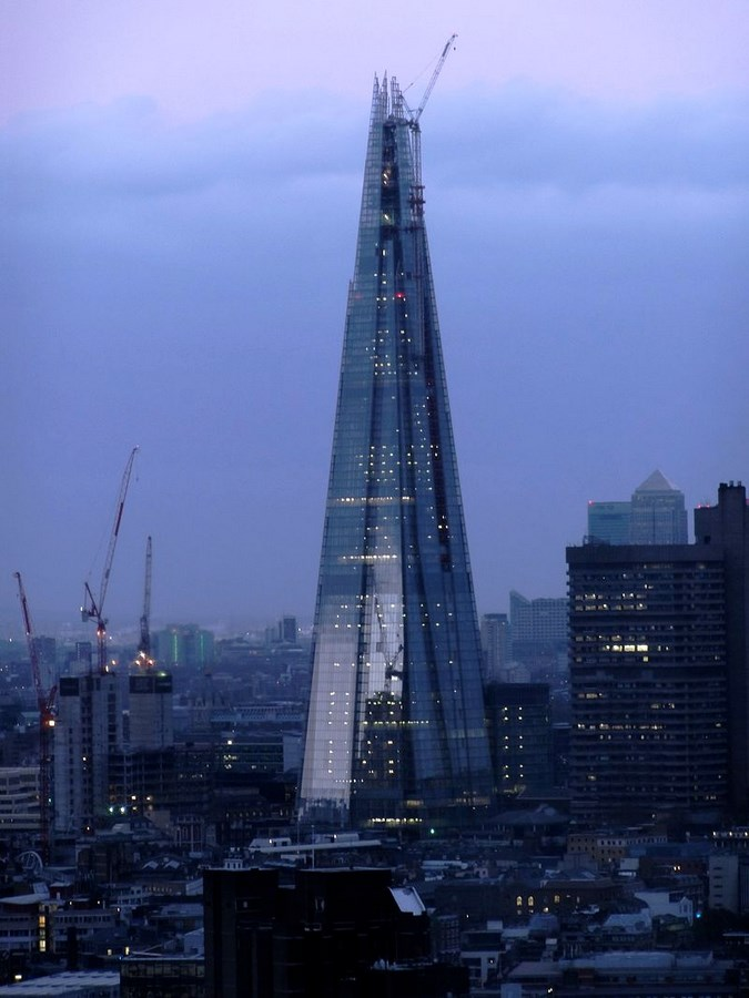 The Shard by Renzo Piano -Inspiring Change-Shard Construction Phases -4