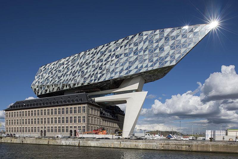 The Port House, Belgium - Zaha Hadid