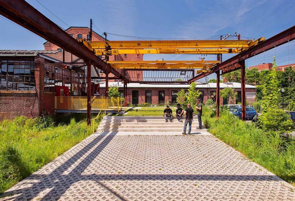 The Steel Yard in Providence, Rhode Island - Klopfer Martin Design Group