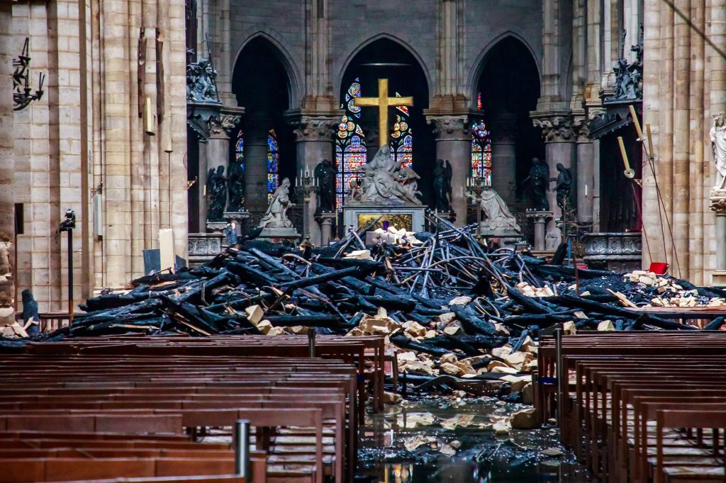 Socio-cultural impact of the Notre Dame on Paris- Before and after the fire -1