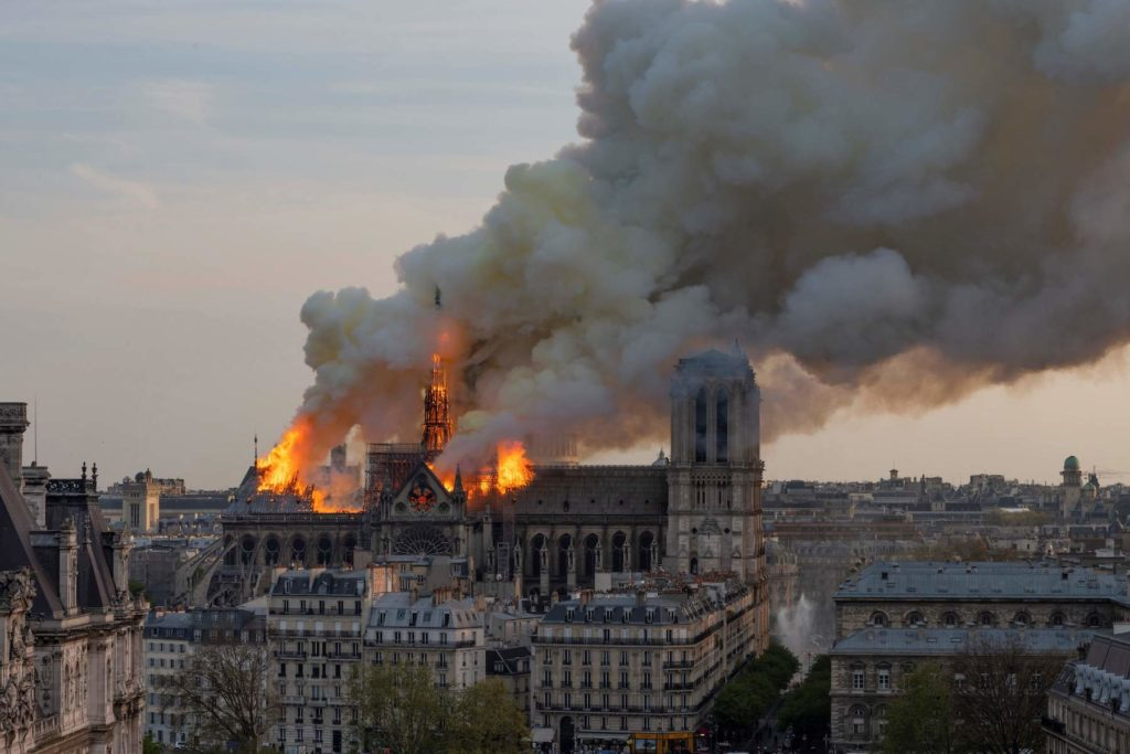 Socio-cultural impact of the Notre Dame on Paris- Before and after the fire -2