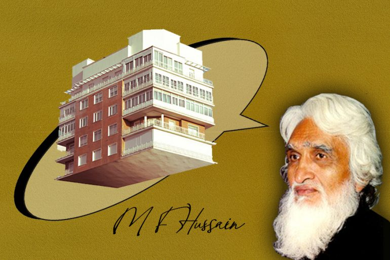 M. F. Hussain As An Architect - Rethinking The Future