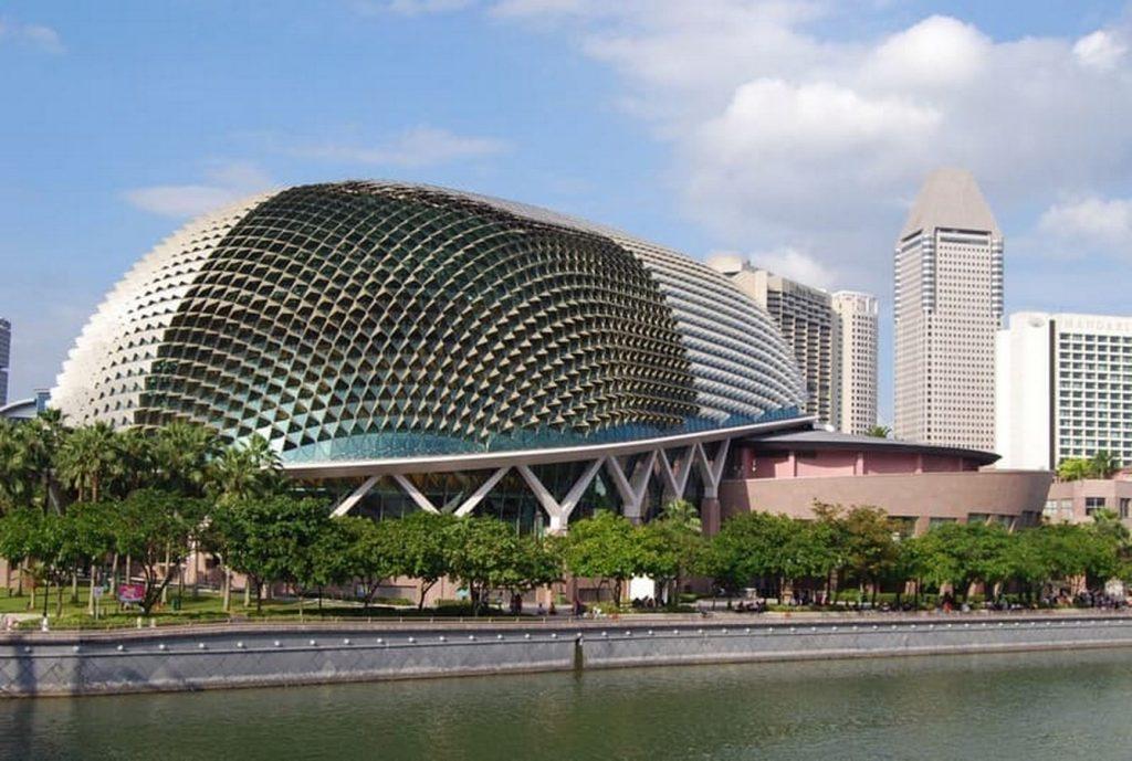 Esplanade Theatre, Singapore - Sheet1