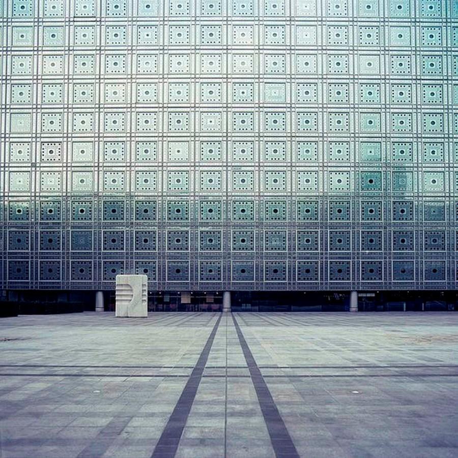 Institute du Monde Arabe, Paris - Sheet3
