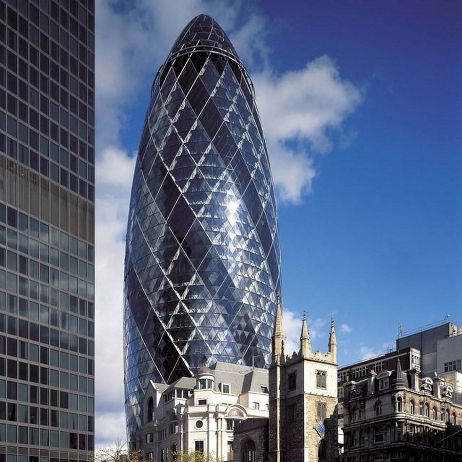 The Gherkin, London - Sheet2
